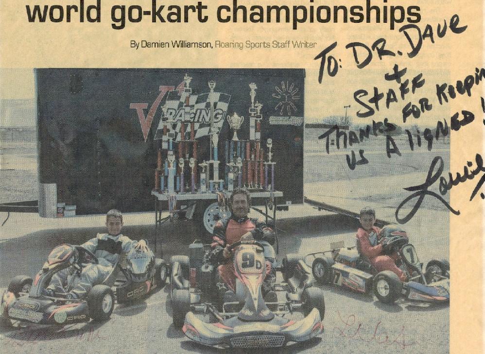 Louie Valasquez-Go Cart racing family
