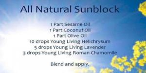 Sunscreen - Handmade